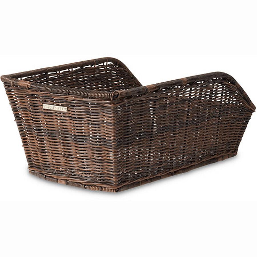 Basil Cento-Rattan Look Kurv, nature brown | Bike baskets