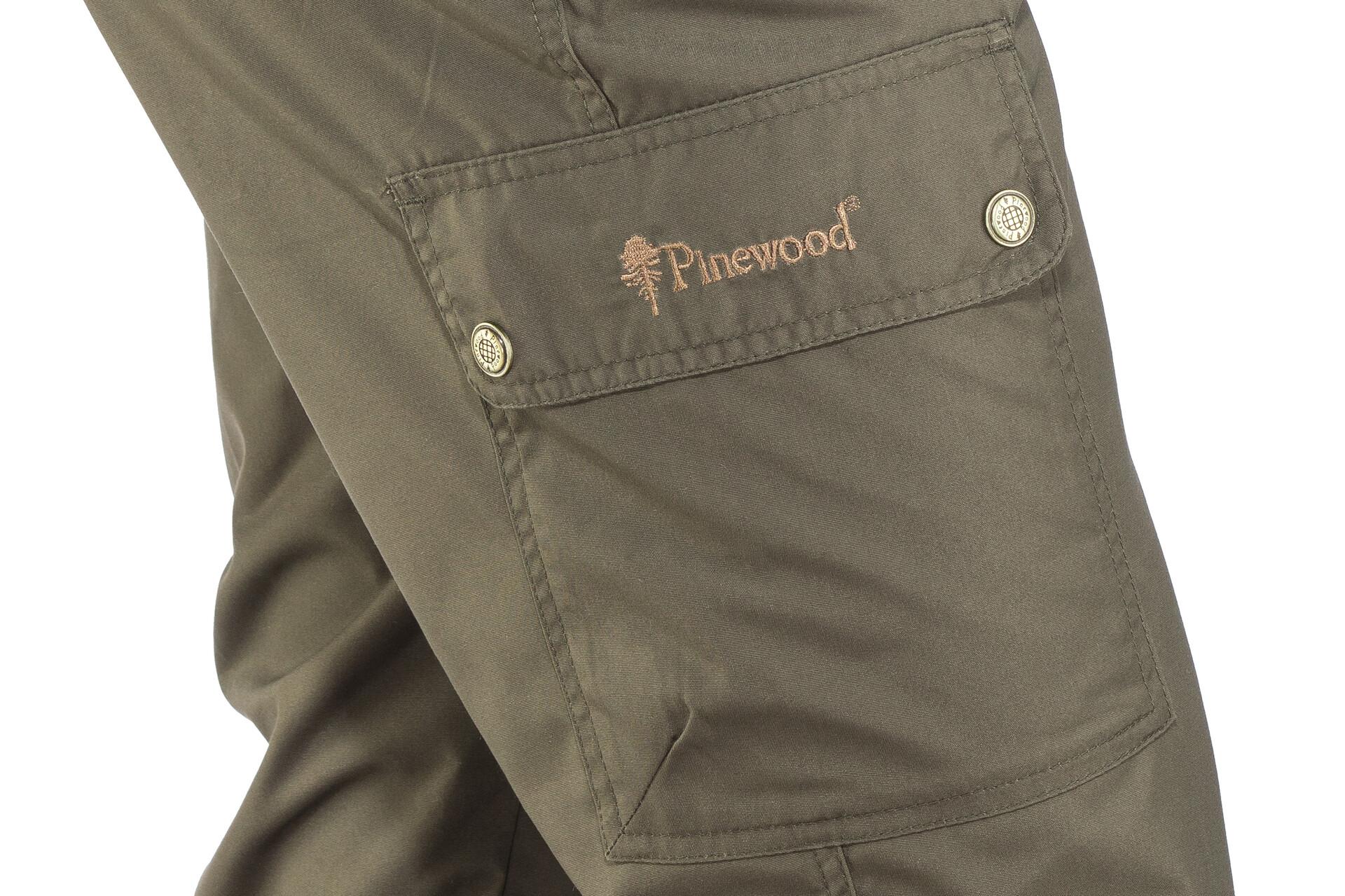 Pantalones Pinewood Finnveden Más Apretado Negro