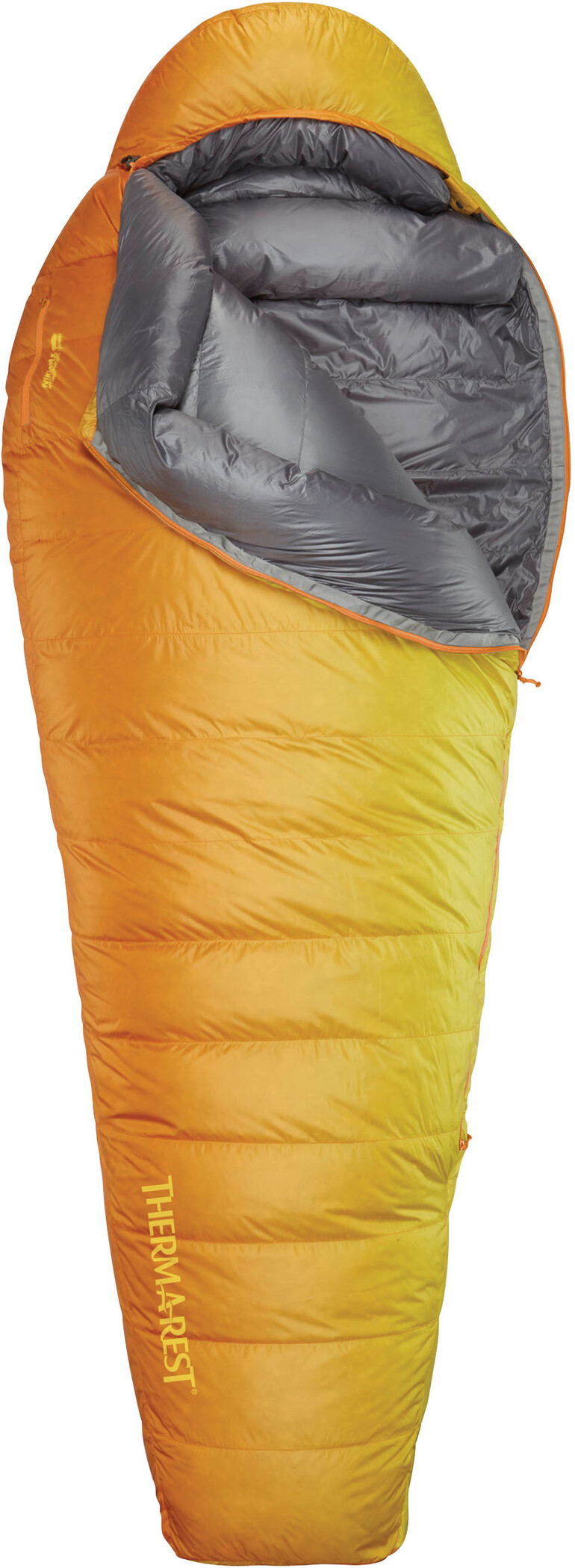 Therm-a-Rest Oberon 0 Sleeping Bag long, orange (2019) | Misc. Transportation and Storage