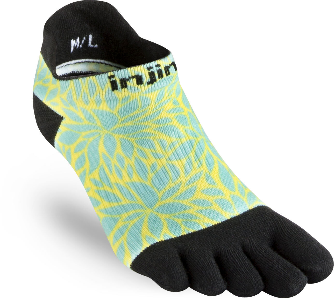 Injinji Run Coolmax Xtra Løbesokker Damer, fern spectrum (2019) | Compression