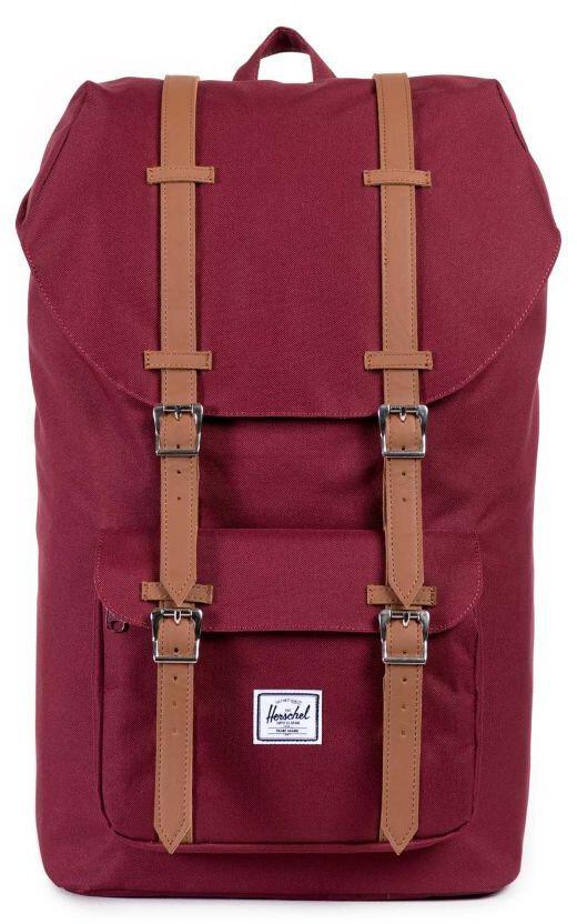 Herschel Little America Rygsæk, black/tan   Travel bags