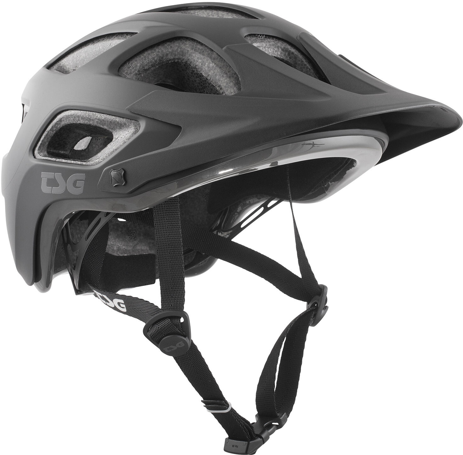 TSG Seek Solid Color Cykelhjelm, satin black | Hjelme