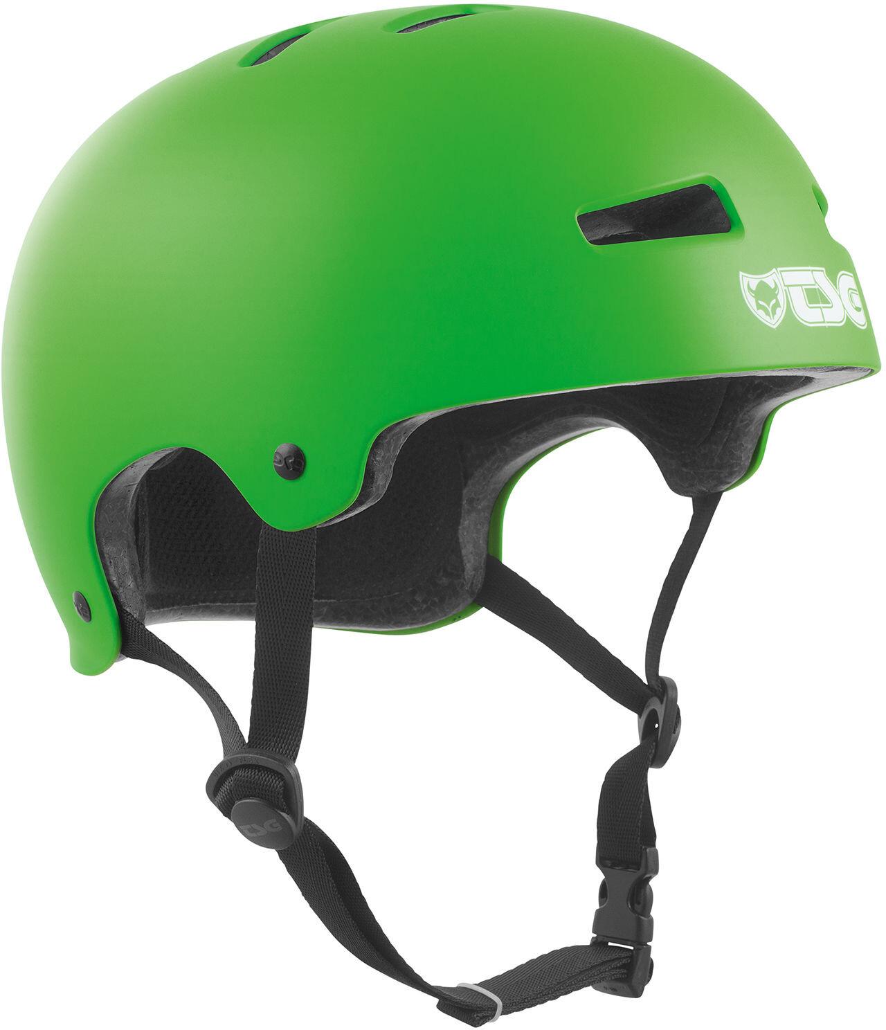 TSG Evolution Solid Color Cykelhjelm, satin-limegreen | Hjelme