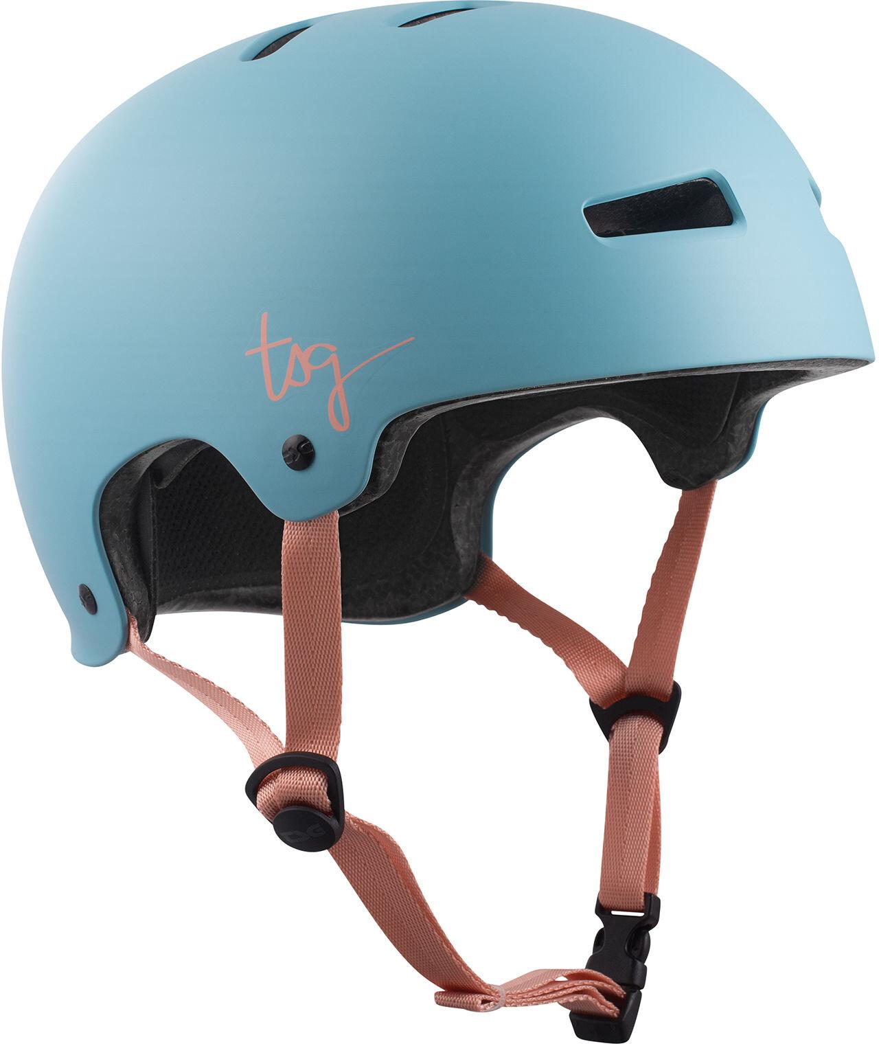 TSG Evolution Solid Color Cykelhjelm Damer, satin porcelain blue | Hjelme