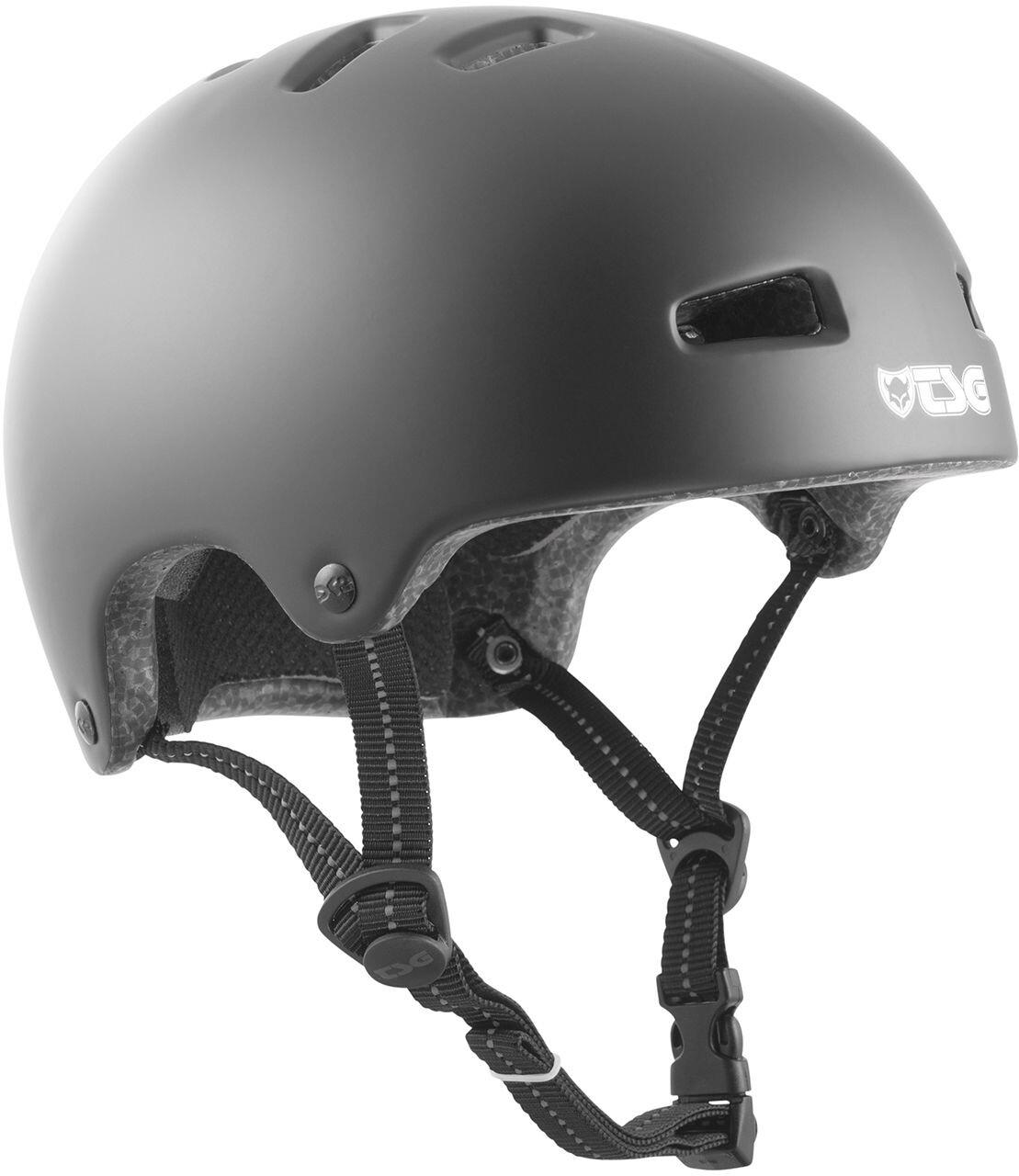 TSG Nipper Mini Solid Color Cykelhjelm Børn, satin black | Hjelme