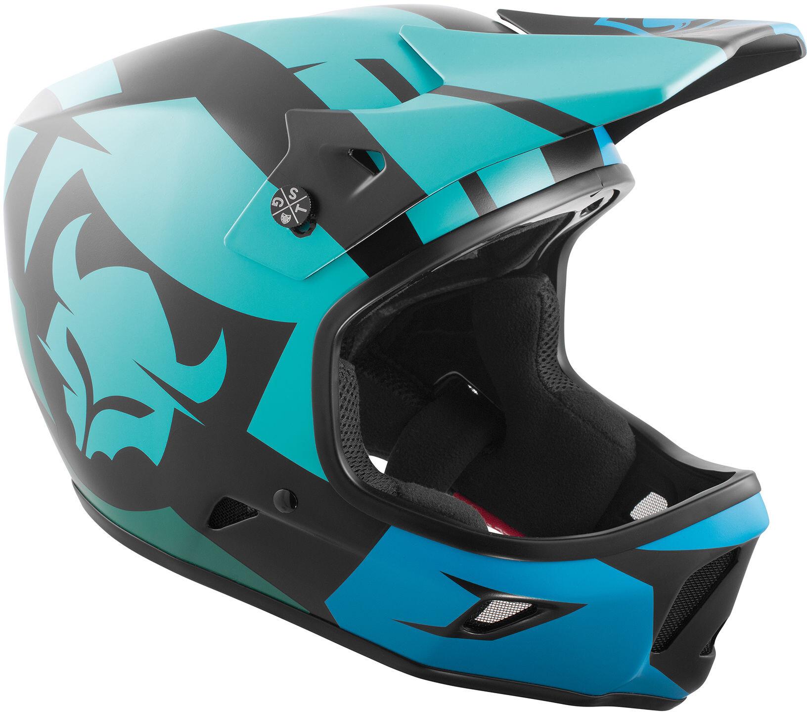 TSG Advance Graphic Design Cykelhjelm Herrer, interval green blue | Hjelme