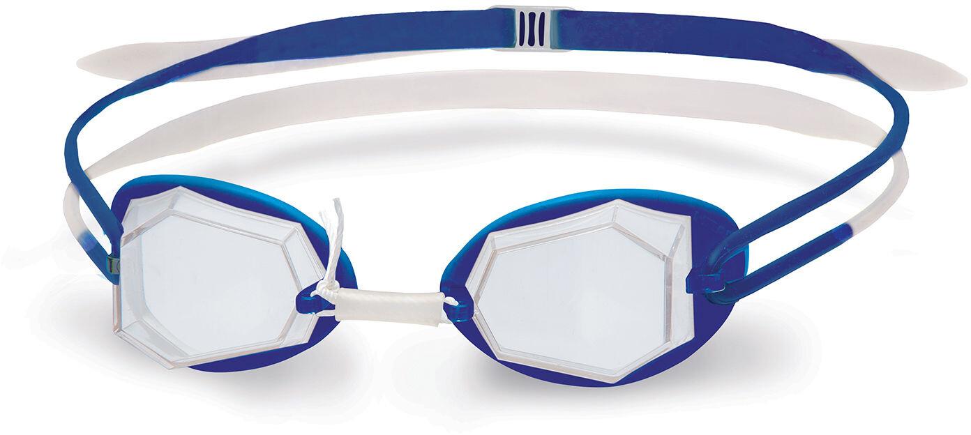 Head Diamond Standard Svømmebriller, white - blue - clear   Tri-beklædning