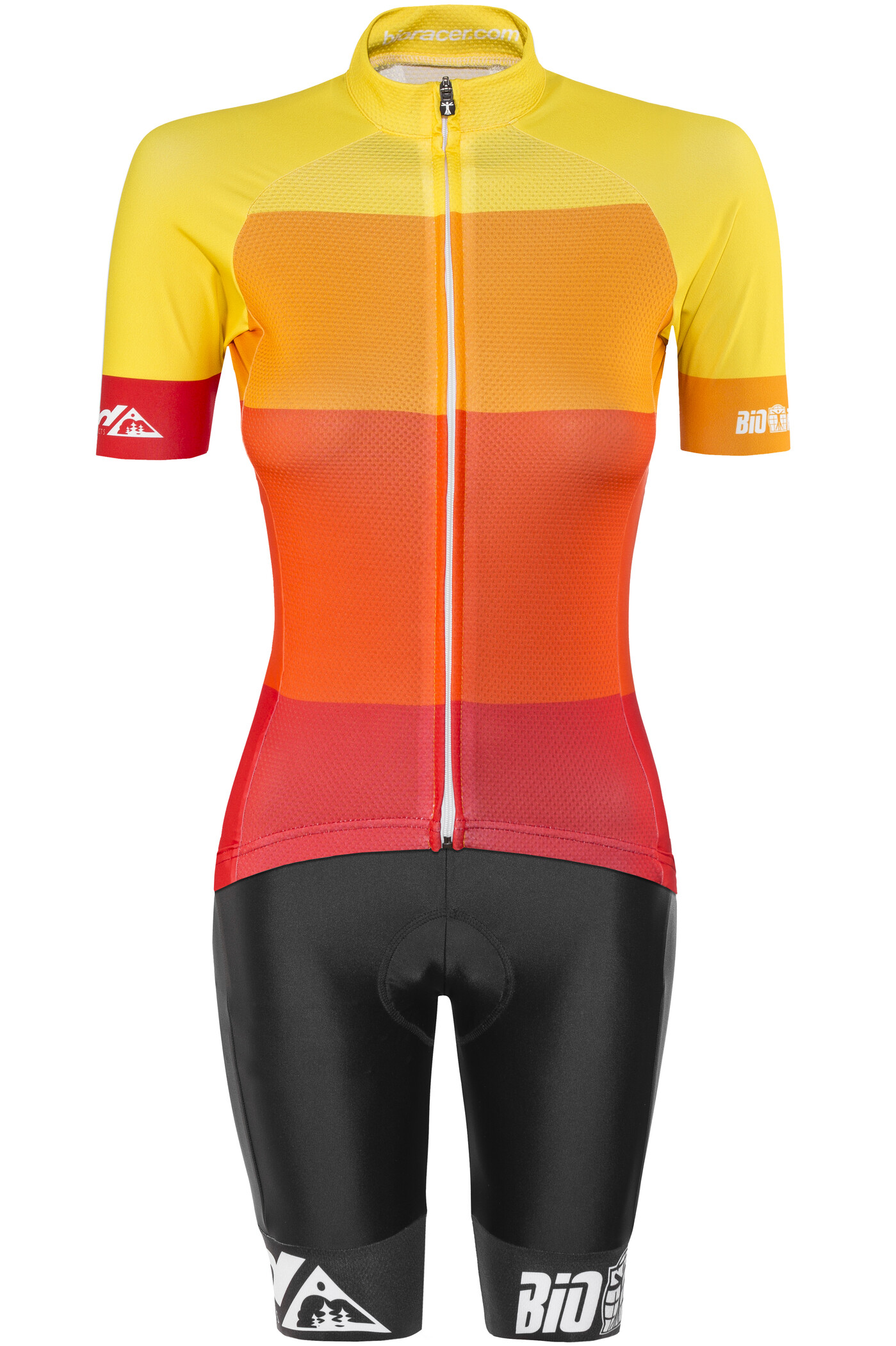 Red Cycling Products Colorblock Race Sæt Damer, red-yellow (2019) | Jerseys