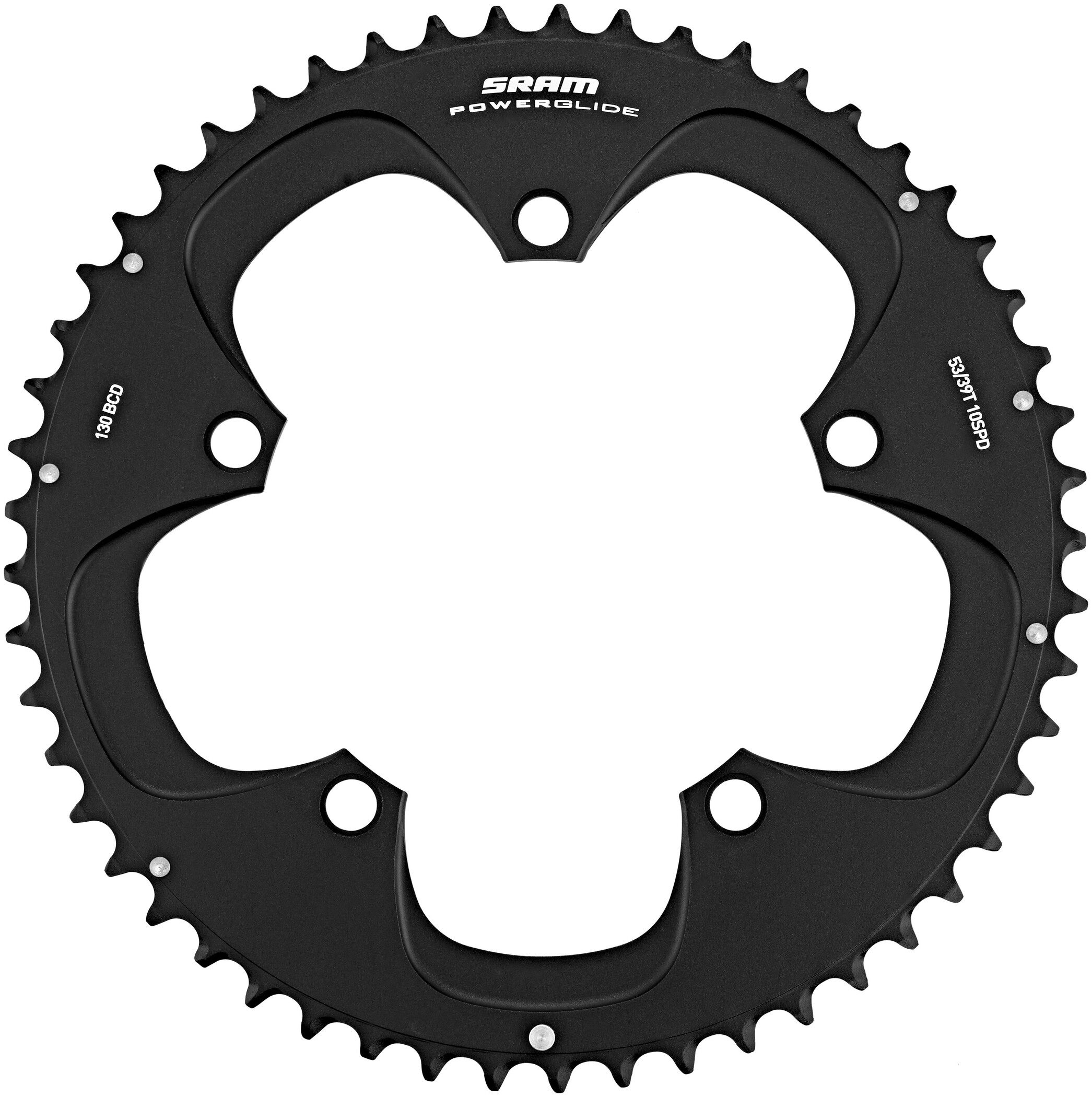SRAM Road Red Klinge 10-speed 130 mm, matte black (2019) | chainrings_component