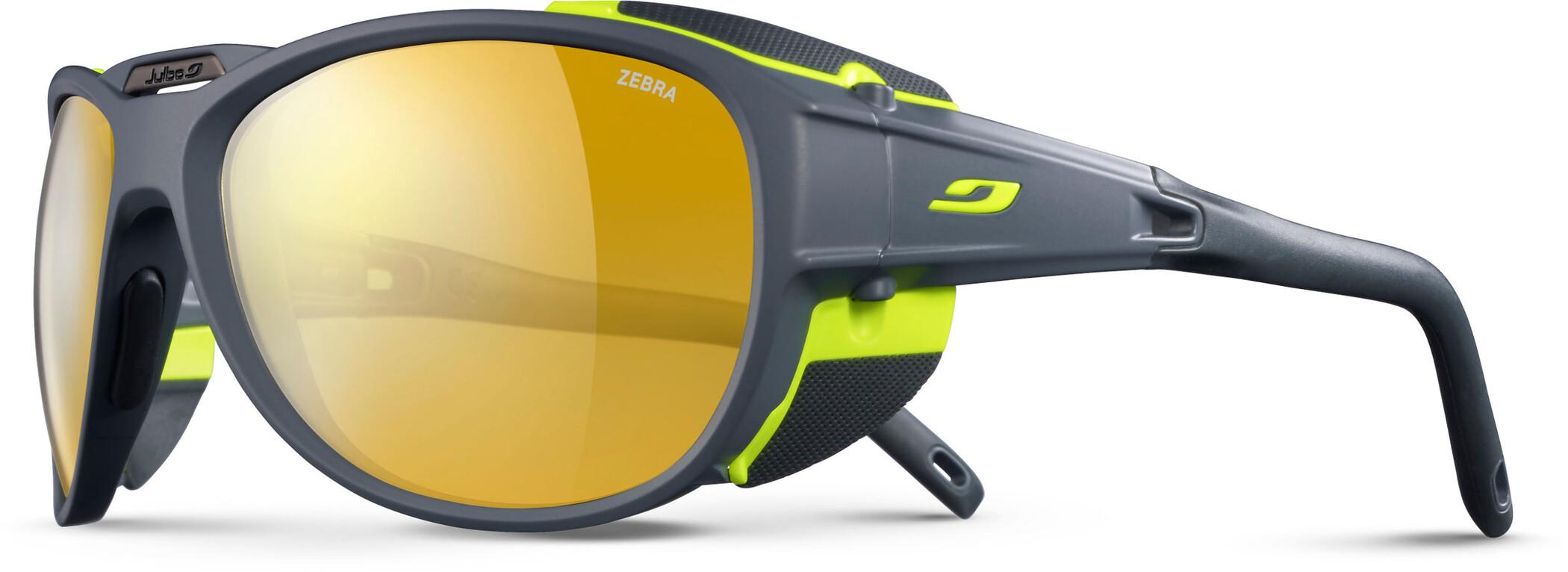 Julbo Exp*** 2.0 Zebra Solbriller, matt gray/green-yellow/brown (2020) | Glasses