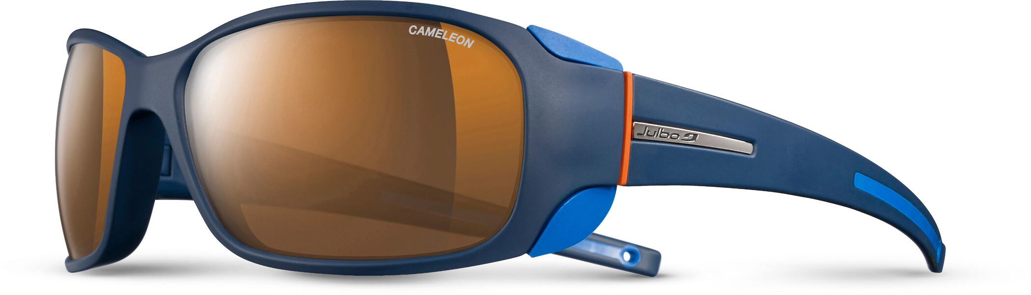 Julbo Montebianco Cameleon Solbriller, blue/blue/orange-brown | Briller