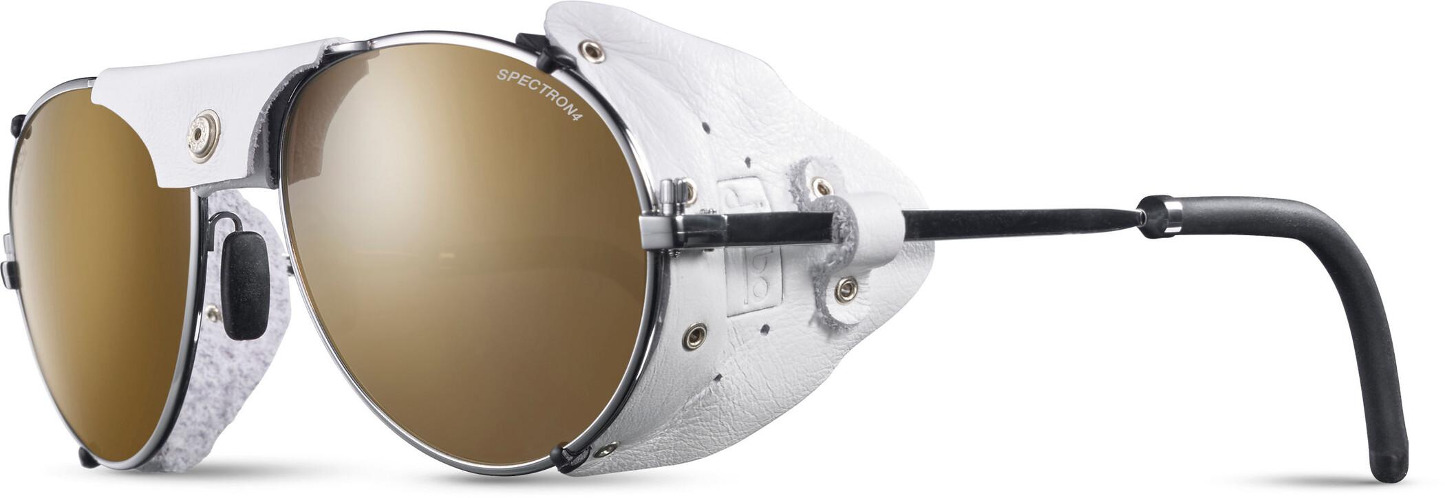 Julbo Cham Spectron 4 Solbriller, chrome/white-brown flash silver (2020) | Glasses