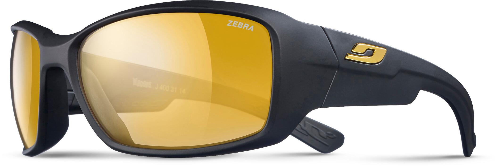 Julbo Whoops Zebra Solbriller, matt black-yellow/brown (2020) | Glasses