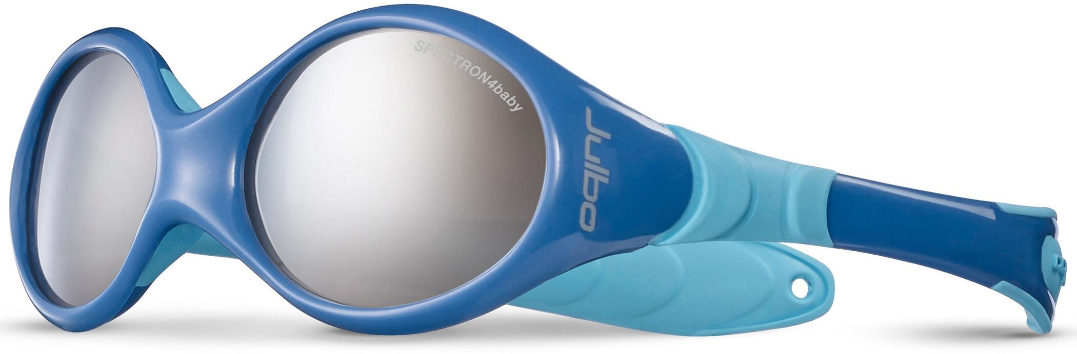 Julbo Looping I Spectron 4 Solbriller 0-18M Børn, blue/sky blue-gray flash silver | Briller