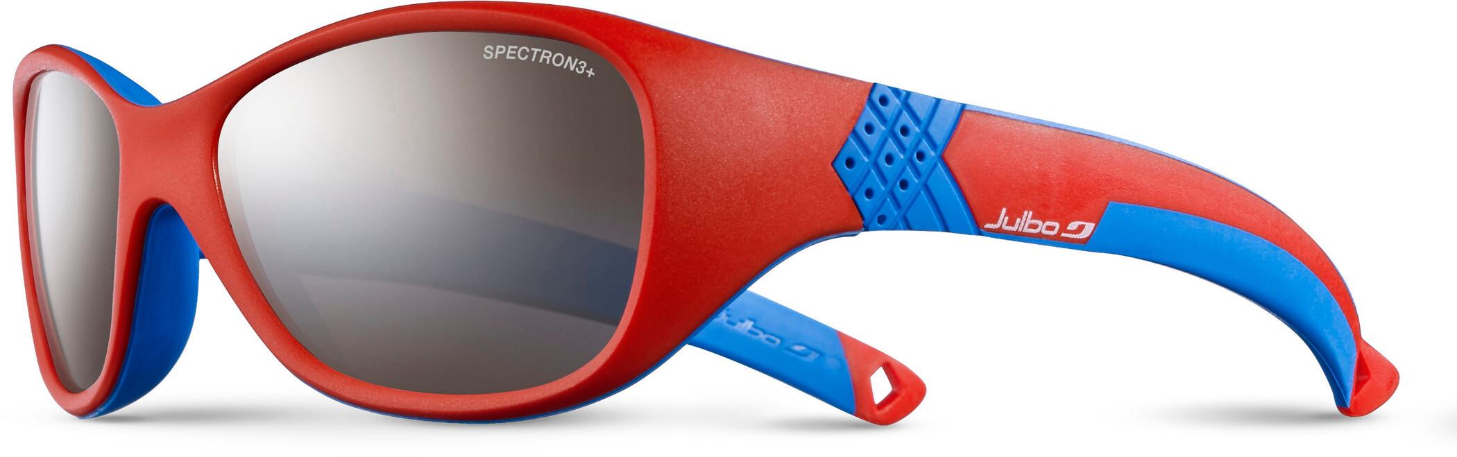 Julbo Solan Spectron 3+ Solbriller 4-6Y Børn, red/blue-gray flash silver | Briller