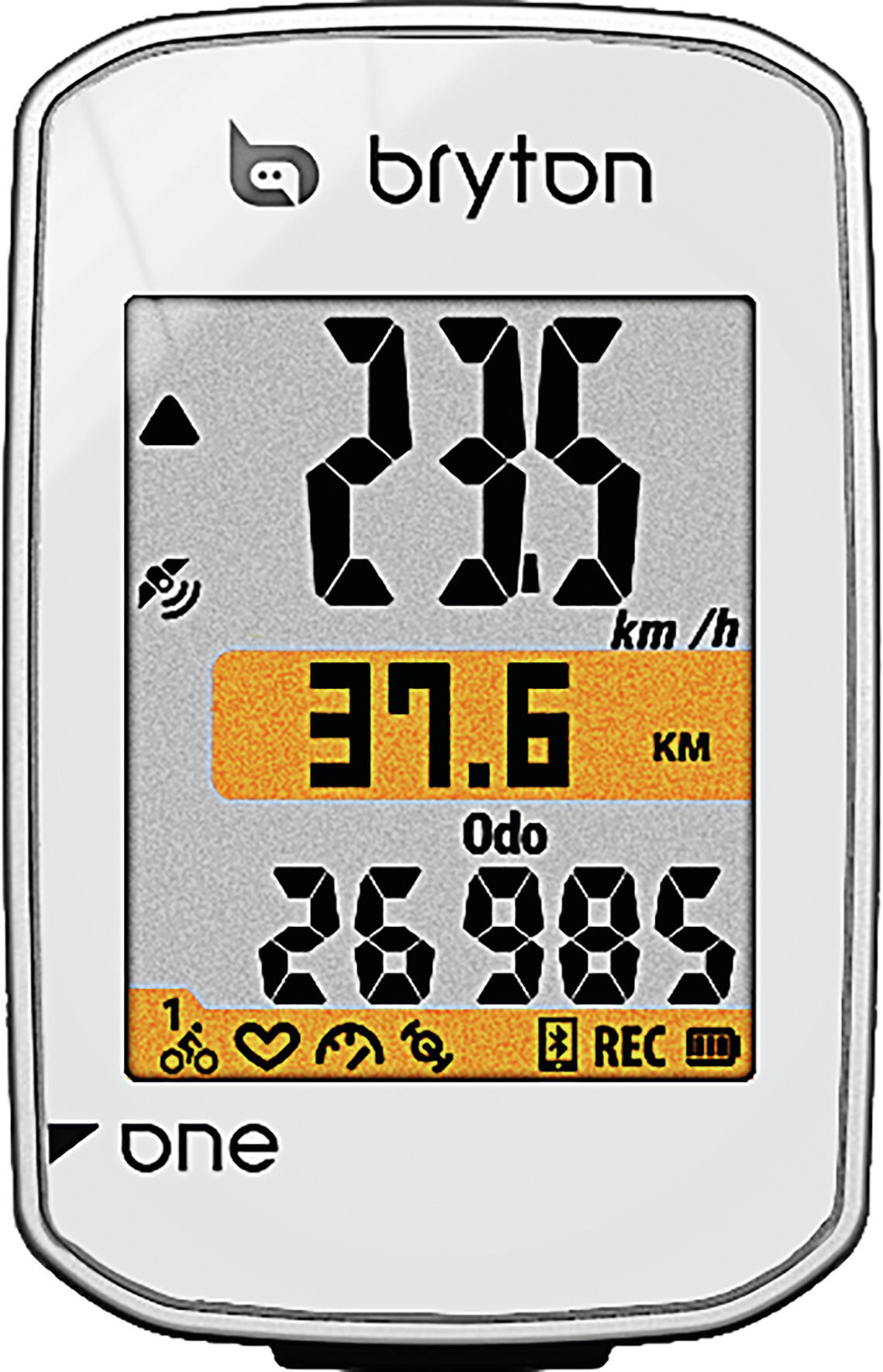 Bryton Rider One E Cykelcomputer, white | Cycle computers