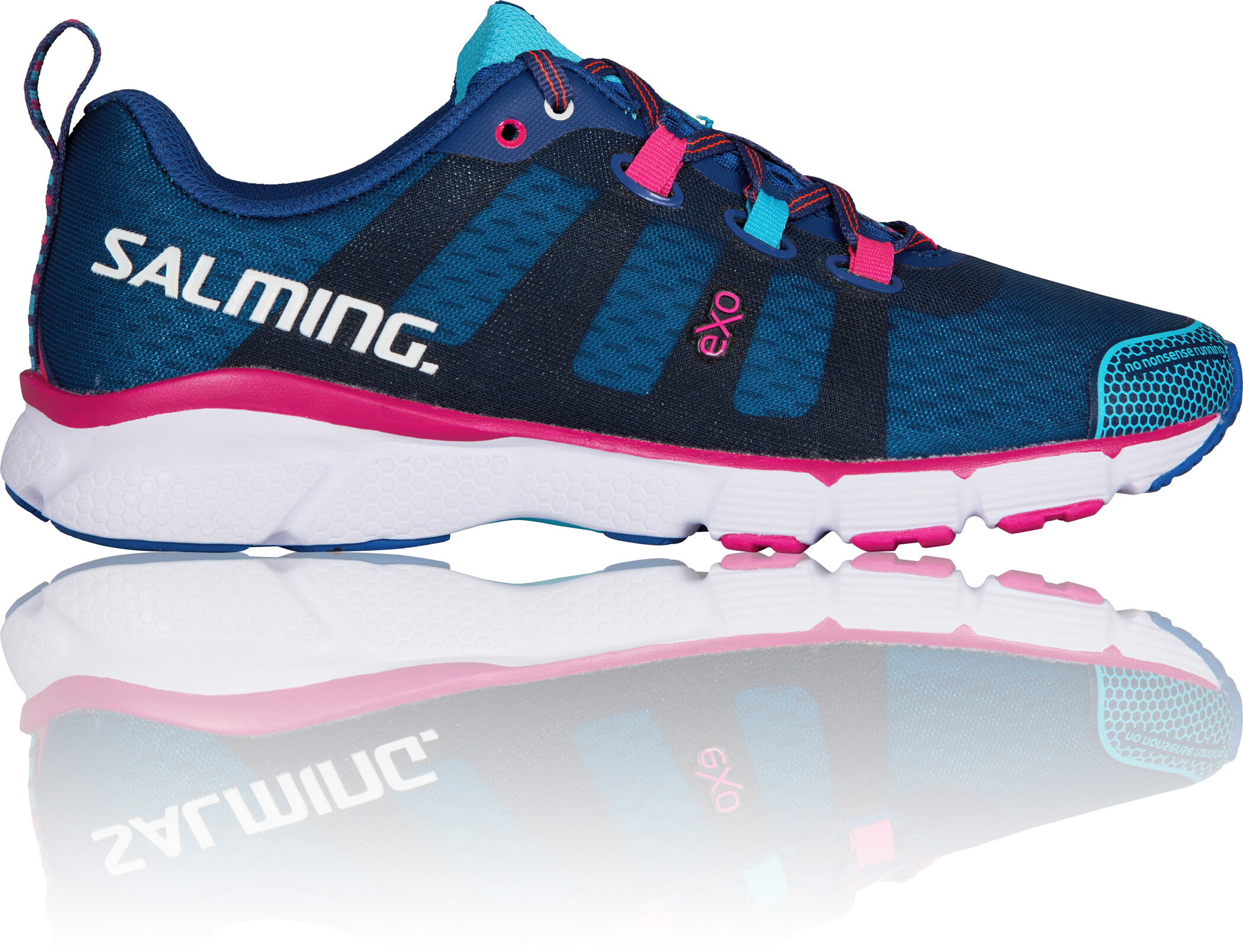 Salming enRoute 2 Sko Damer, limoges blue/blue atoll | Running shoes