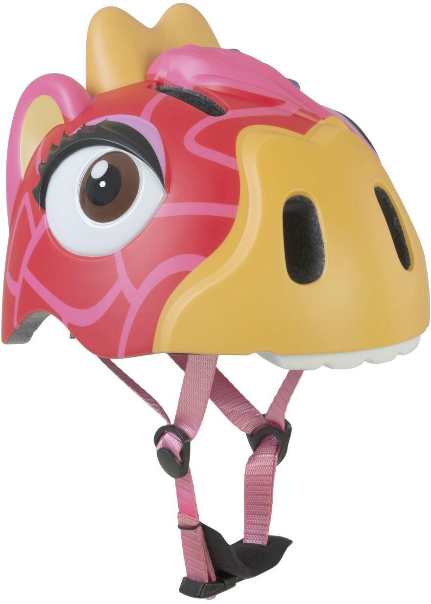 Crazy Safety Giraffe Cykelhjelm Piger, red | Hjelme