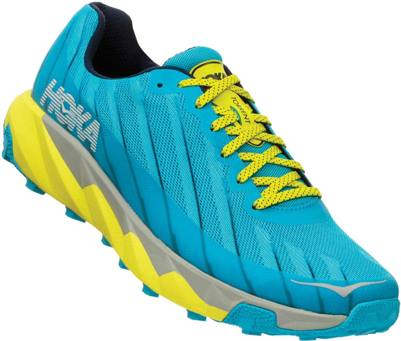 Hoka One One Torrent Løbesko Herrer, cyan blue/citrus (2019) | Running shoes