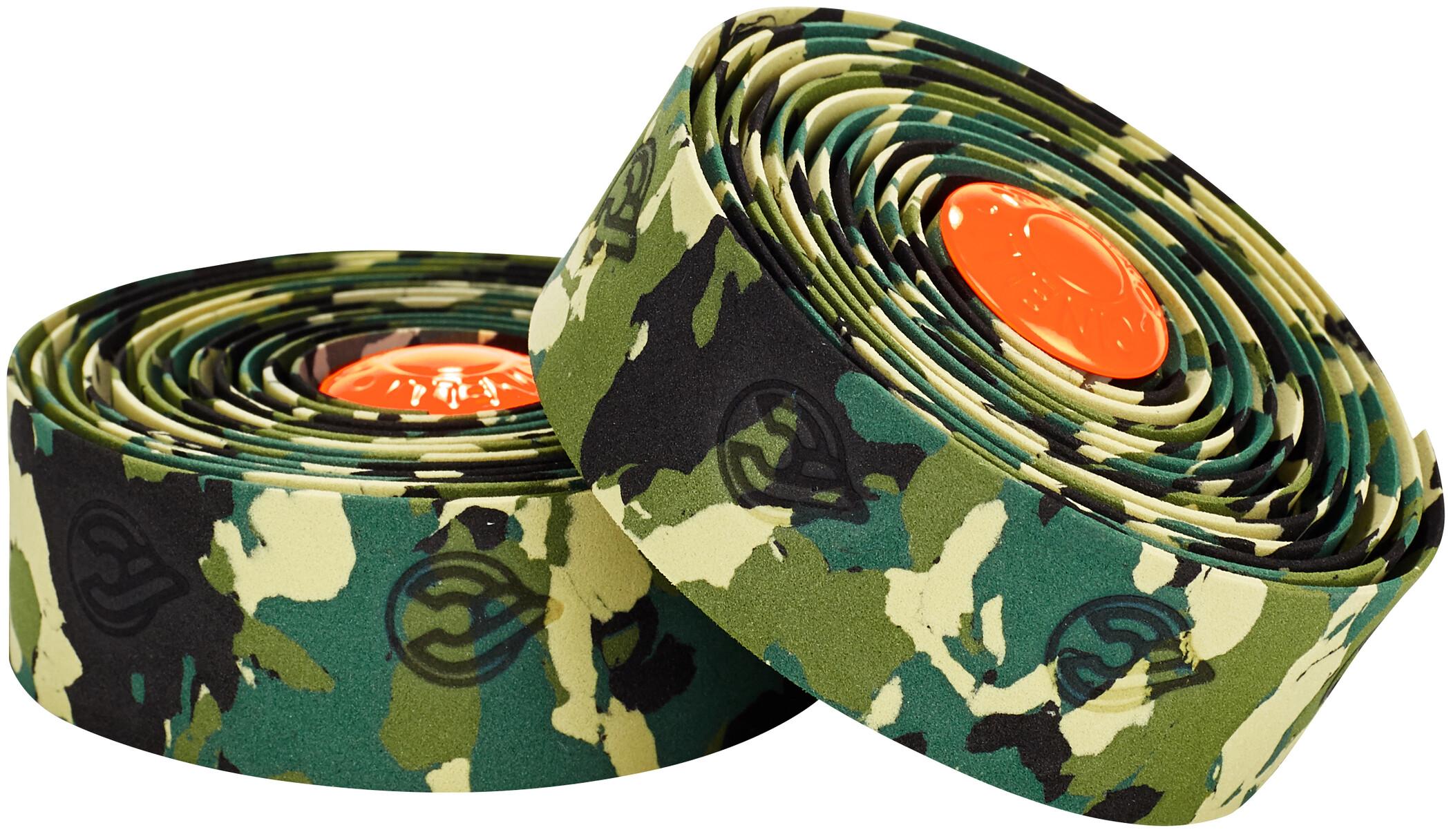 Cinelli Camouflage Ribbon Styrbånd, green | Styrbånd