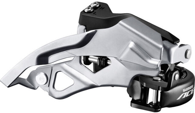 Shimano ALIVIO FD-T4000 Umwerfer 3x9-fach 34,9 mm 31,8//28,6 mm DOWN SWING 63-66°