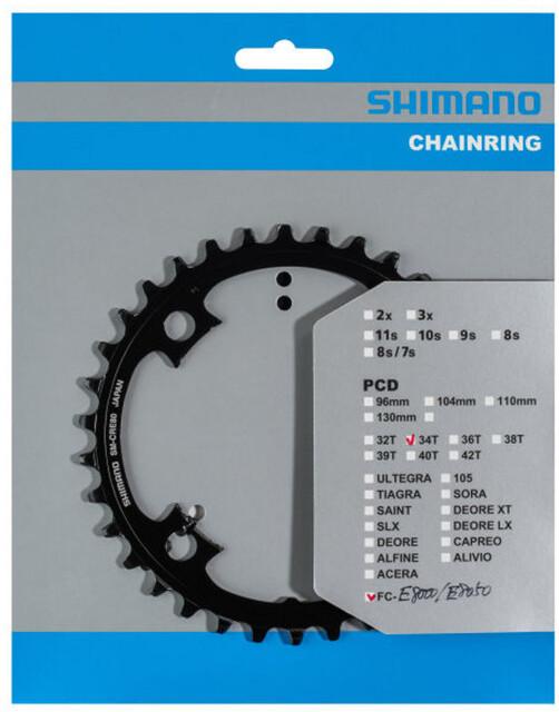 Chainring 38T STEPS MTB 53mm SM-CRE80 for FC-E8050//E8000 SHIMANO Crankset
