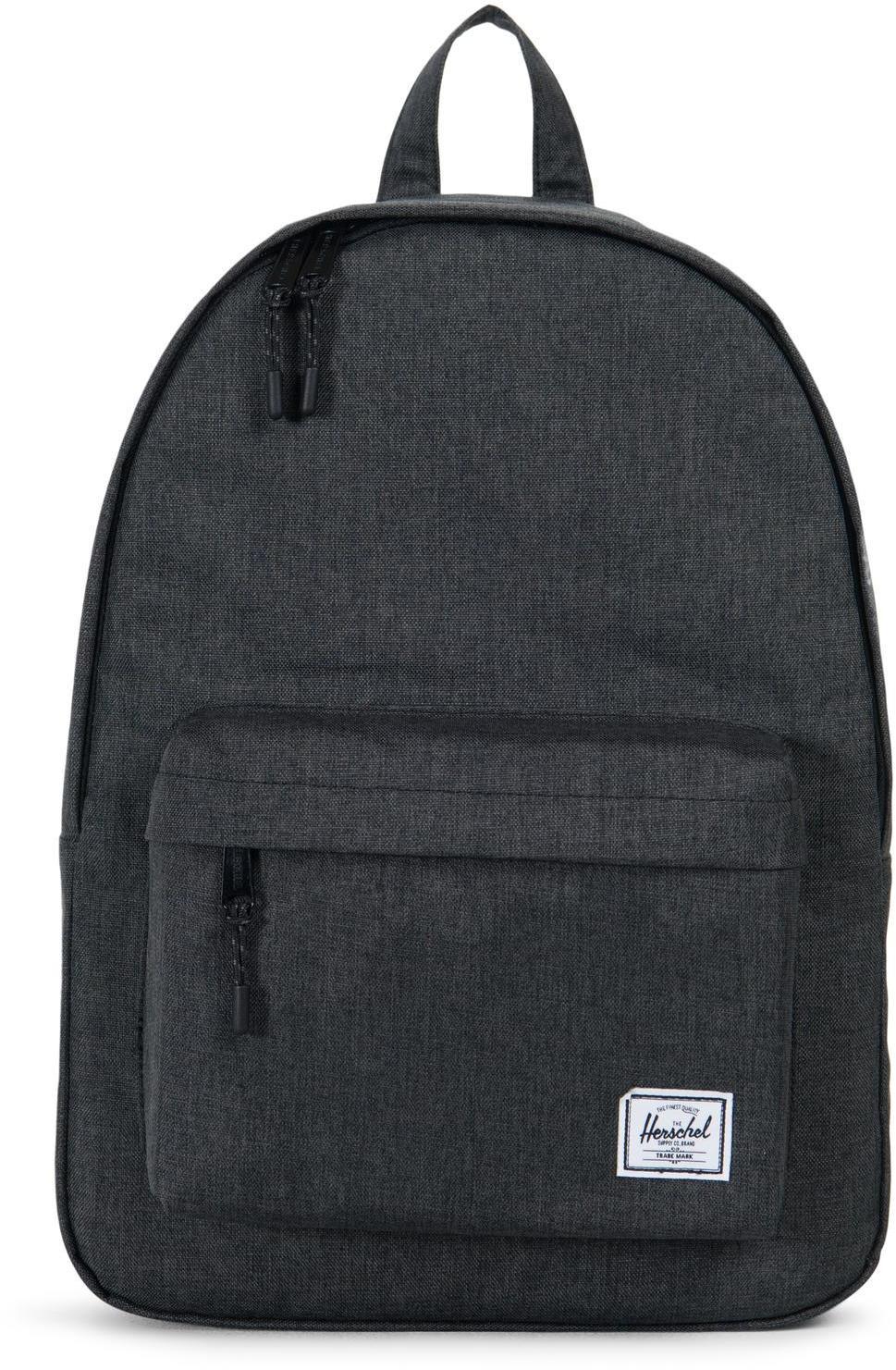 Herschel Classic Rygsæk, black crosshatch (2019)   Rygsæk og rejsetasker