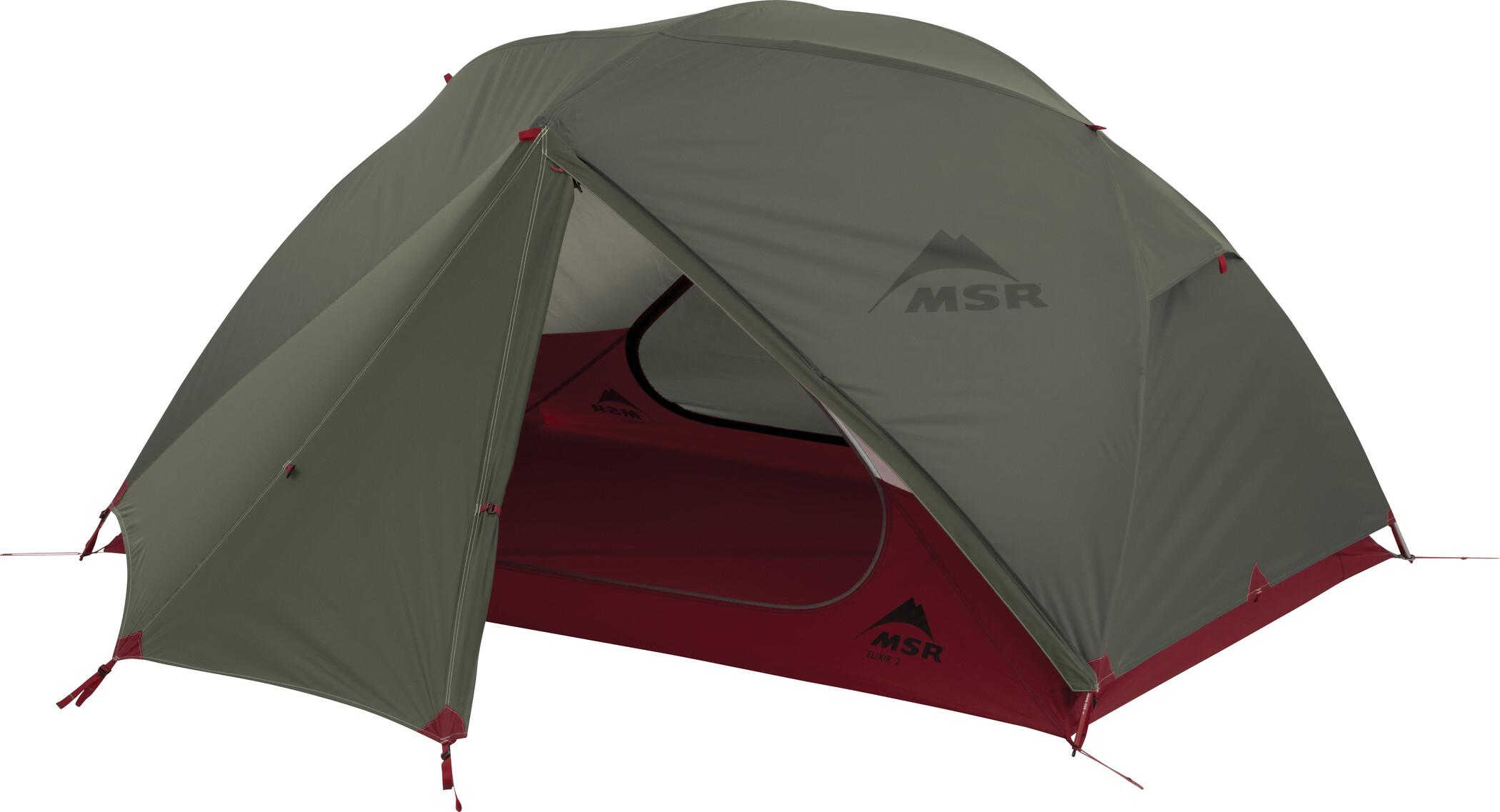 MSR Elixir 2 V2 Telt, green (2019) | Misc. Transportation and Storage