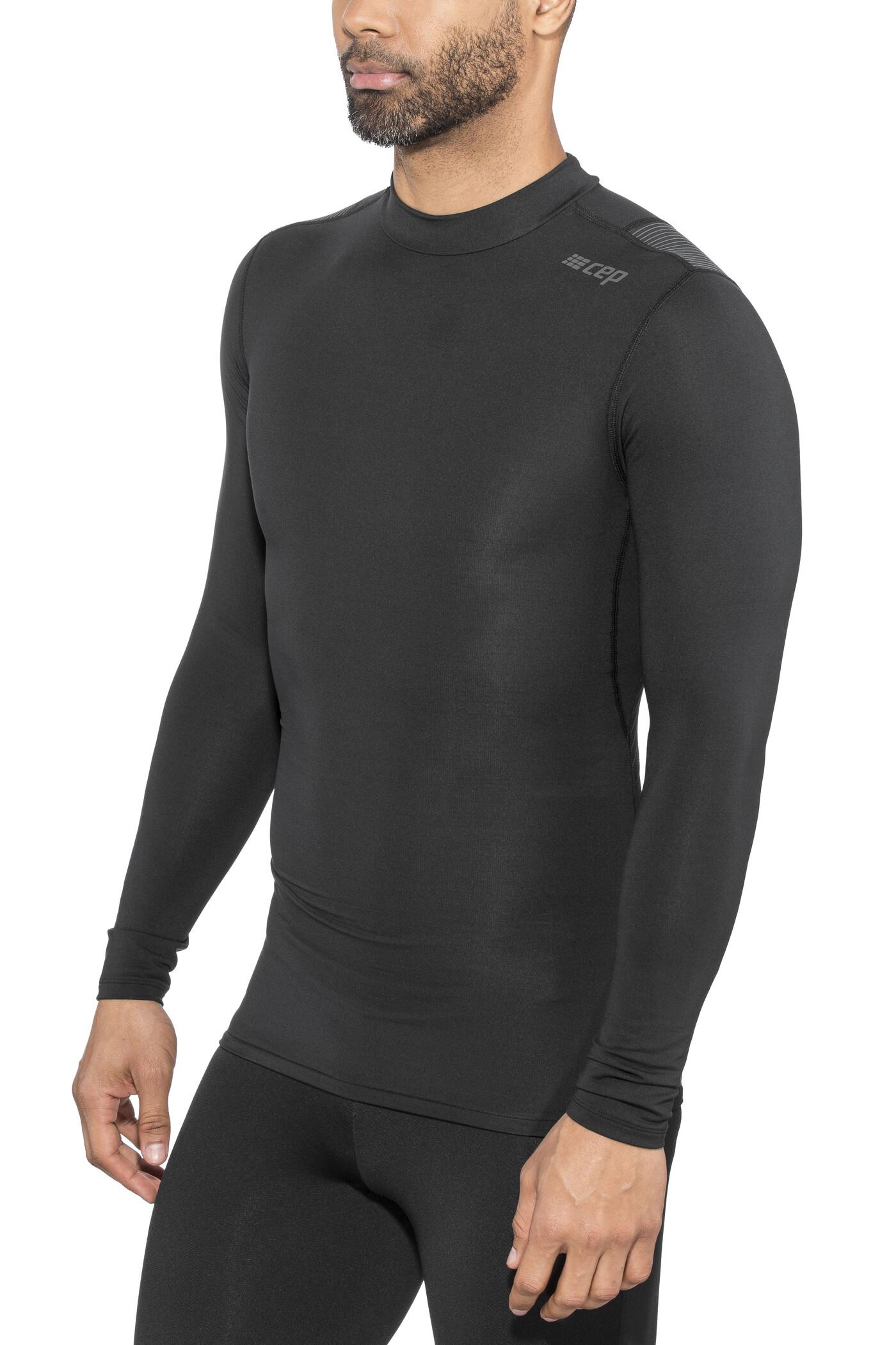 cep Winter Wingtech Langærmet T-shirt Herrer, black (2019) | Jerseys