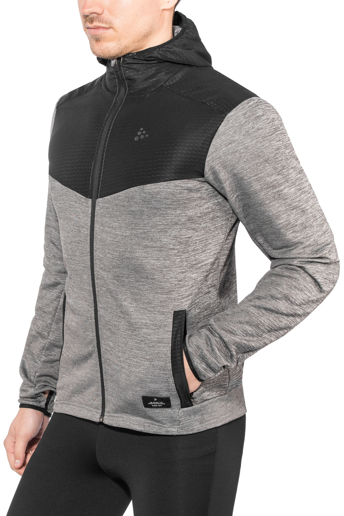 Craft Breakaway Løbejakke Herrer, dk grey melange | Jackets