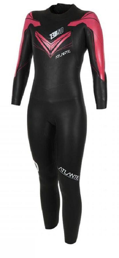 Z3R0D Atlante Wetsuit Women, black/fuchsia   Tri-beklædning