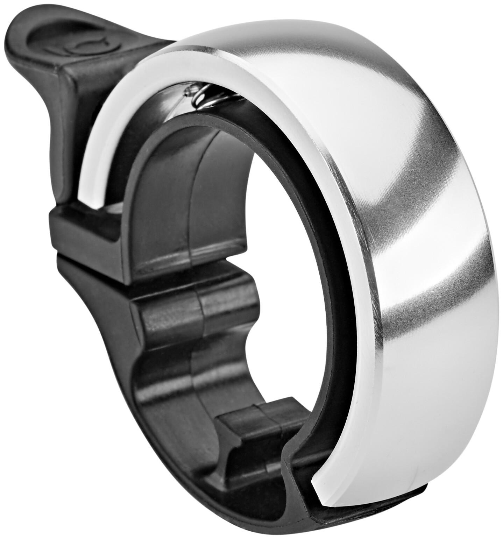 Knog Oi Classic Ringeklokke, black/silver polished (2019)   Bells