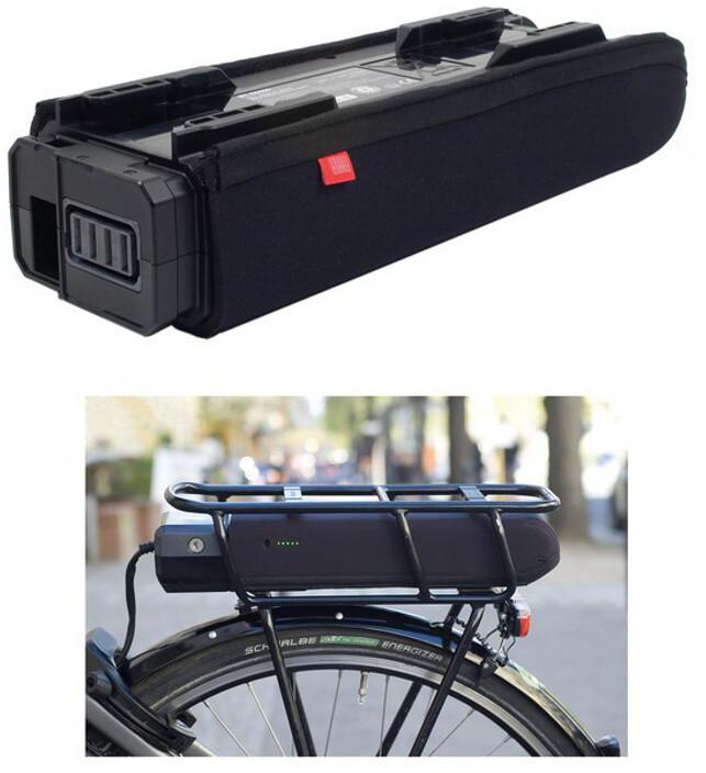 Fahrer Berlin E-Bike Beskyttelse til Shimano Steps E6000 bagagebærerbatteri (2019) | City-cykler