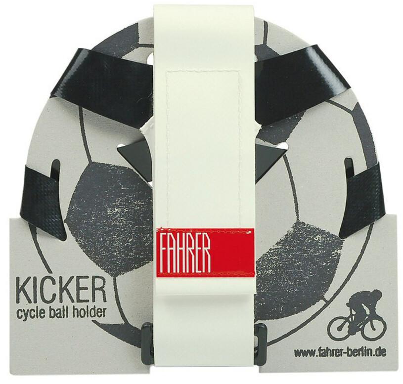 Fahrer Berlin Kicker Ball Holder, black/white (2019) | item_misc