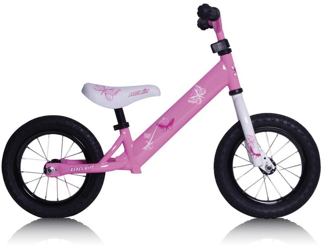 Rebel Kidz Air Løbecykel Børn, schmetterling pink (2019) | Learner Bikes