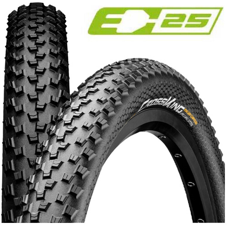 "Continental Cross King II Performance 2.3 Folding Tyre 27"", black (2019) 