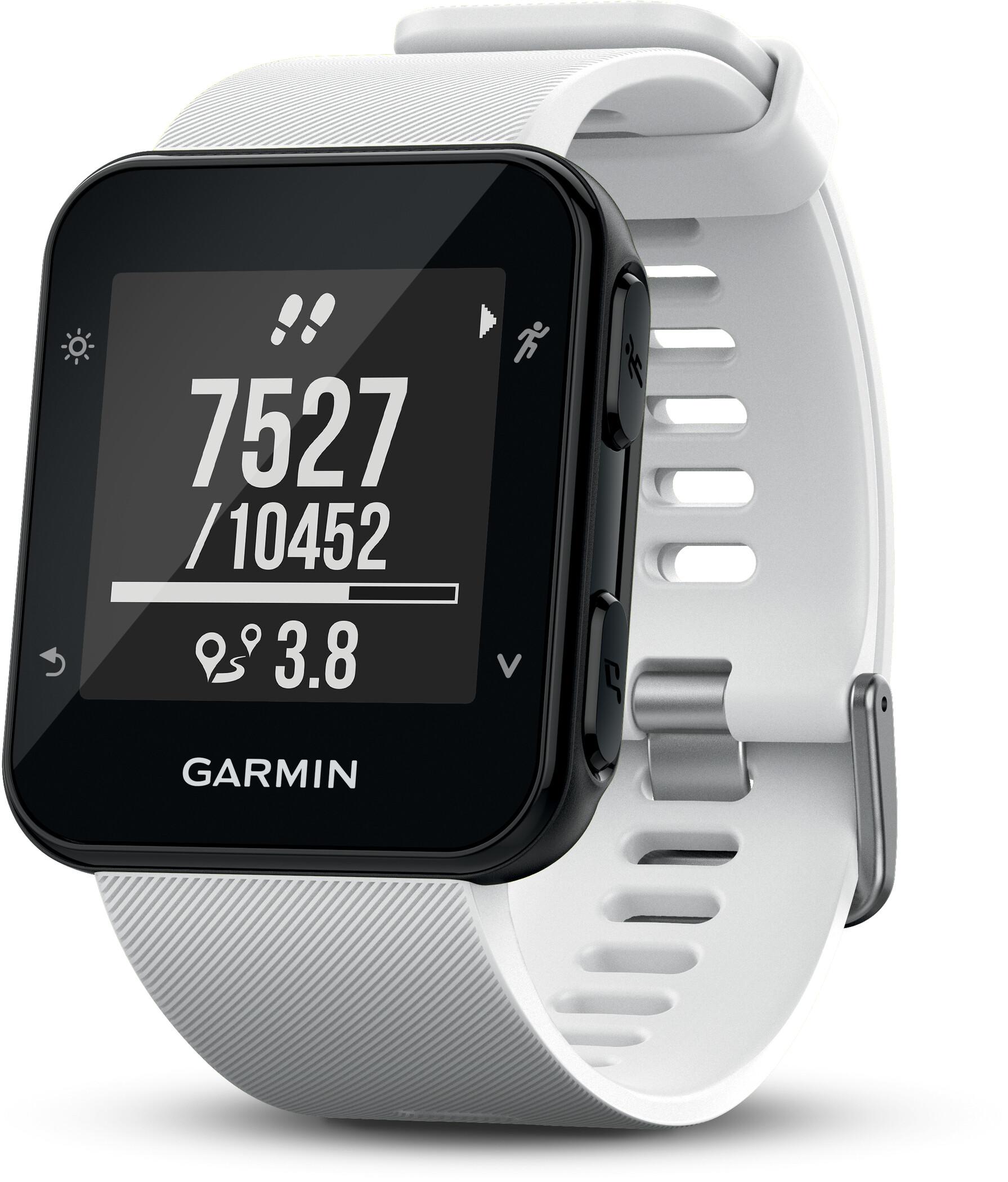 Garmin Forerunner 35 GPS-løbeur, white (2019) | Sports watches