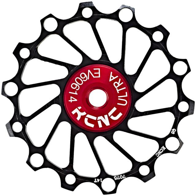 KCNC Jockey Wheel SS Bearing Narrow Wide 16 Zähne black 2020 Lager schwarz