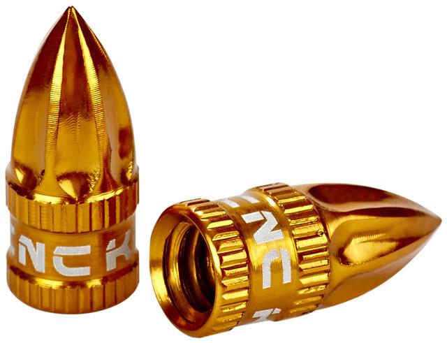 KCNC Aluminum Presta Red French Valve Cap