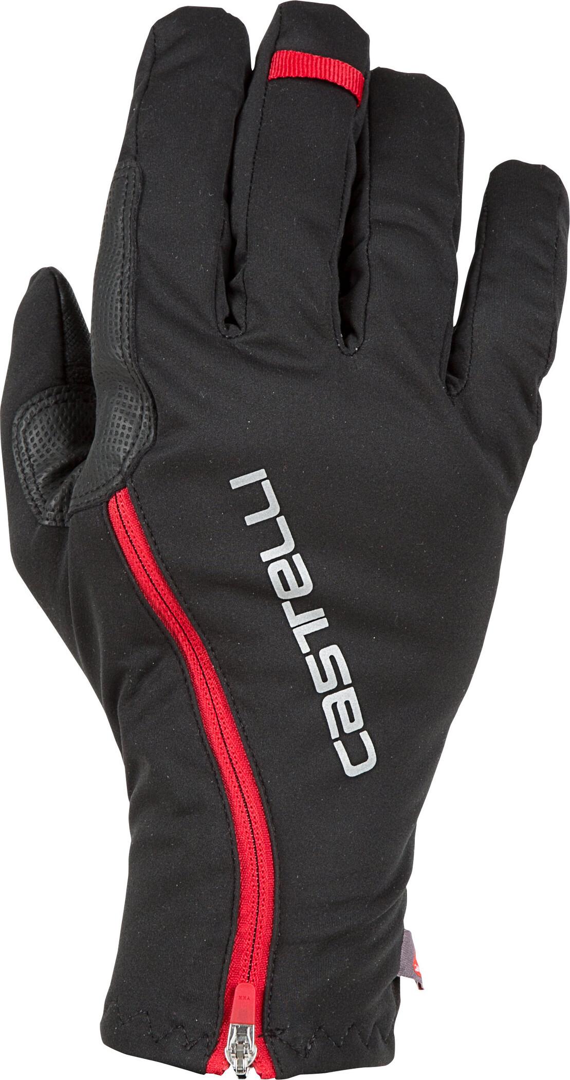 CASTELLI SPETTACOLO RoS HANDSKER BLACK/RED | Gloves