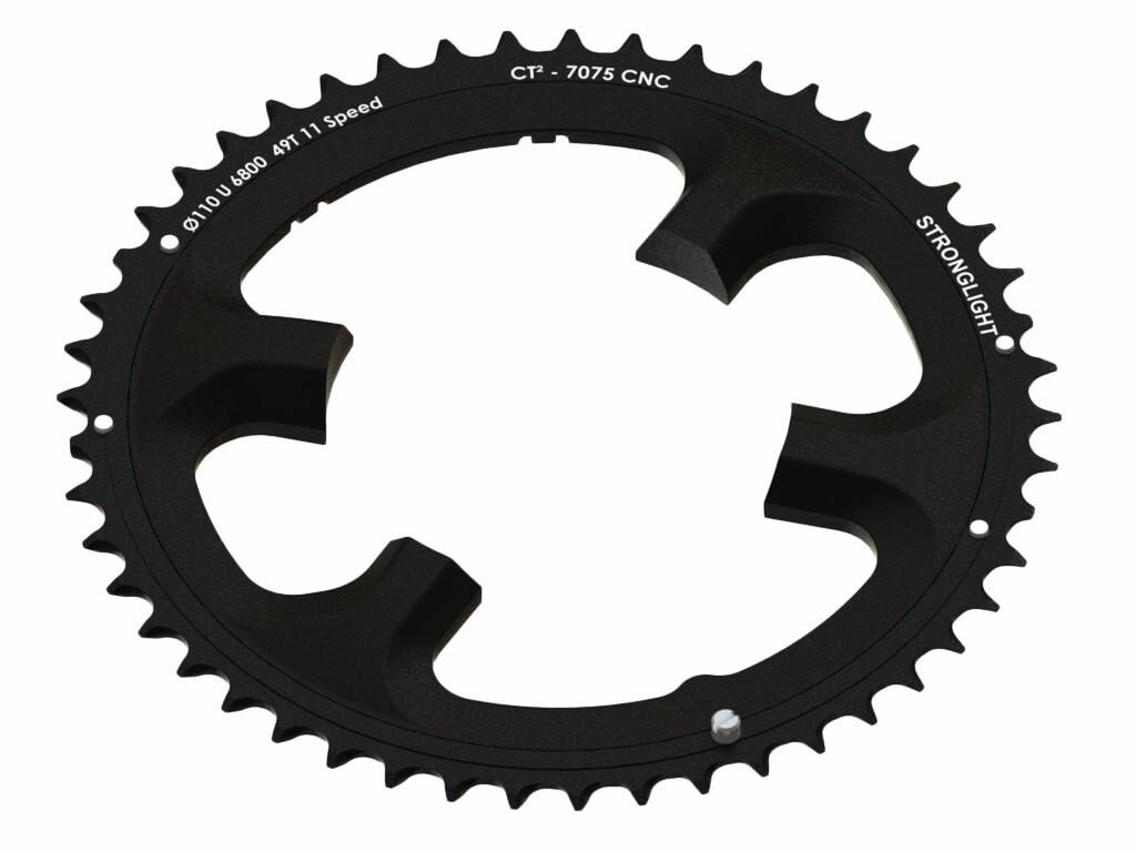 STRONGLIGHT Ultegra Klinge udvendig 11-speed ct², black (2019) | chainrings_component