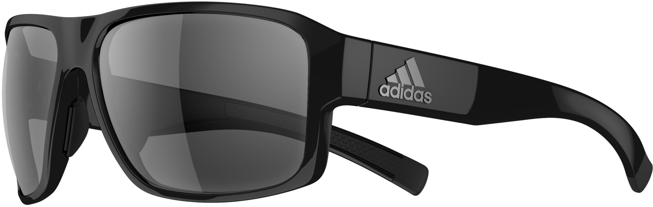 adidas Jaysor Solbriller, black shiny/grey (2019) | Glasses