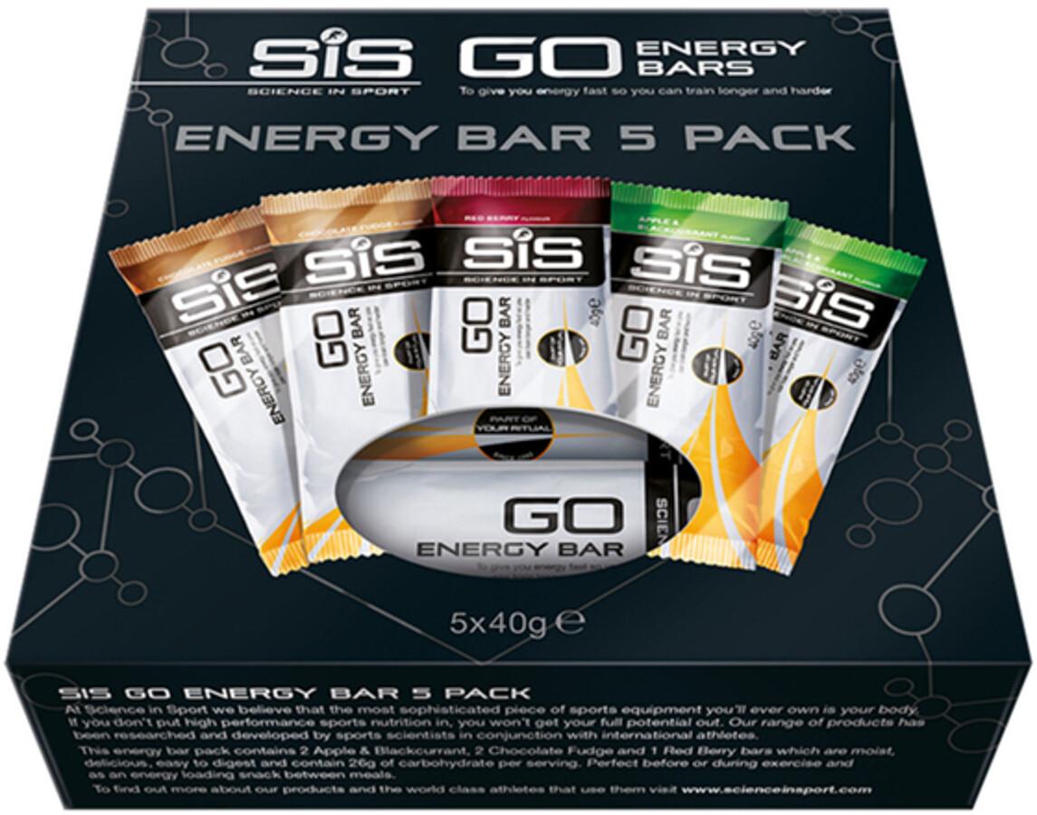 SiS GO Energy Bar Box 5x40g, Mixed (2019) | Energy bar