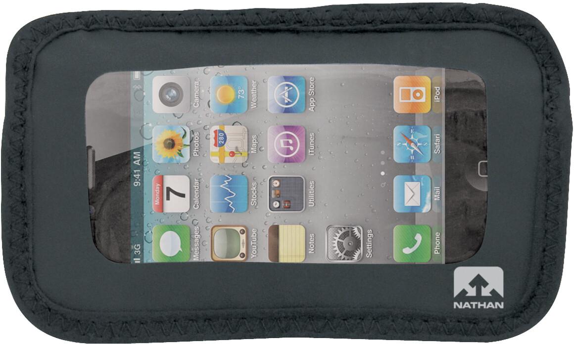 Nathan Weather-Resistant Phone Pocket, black | phone_mounts_component