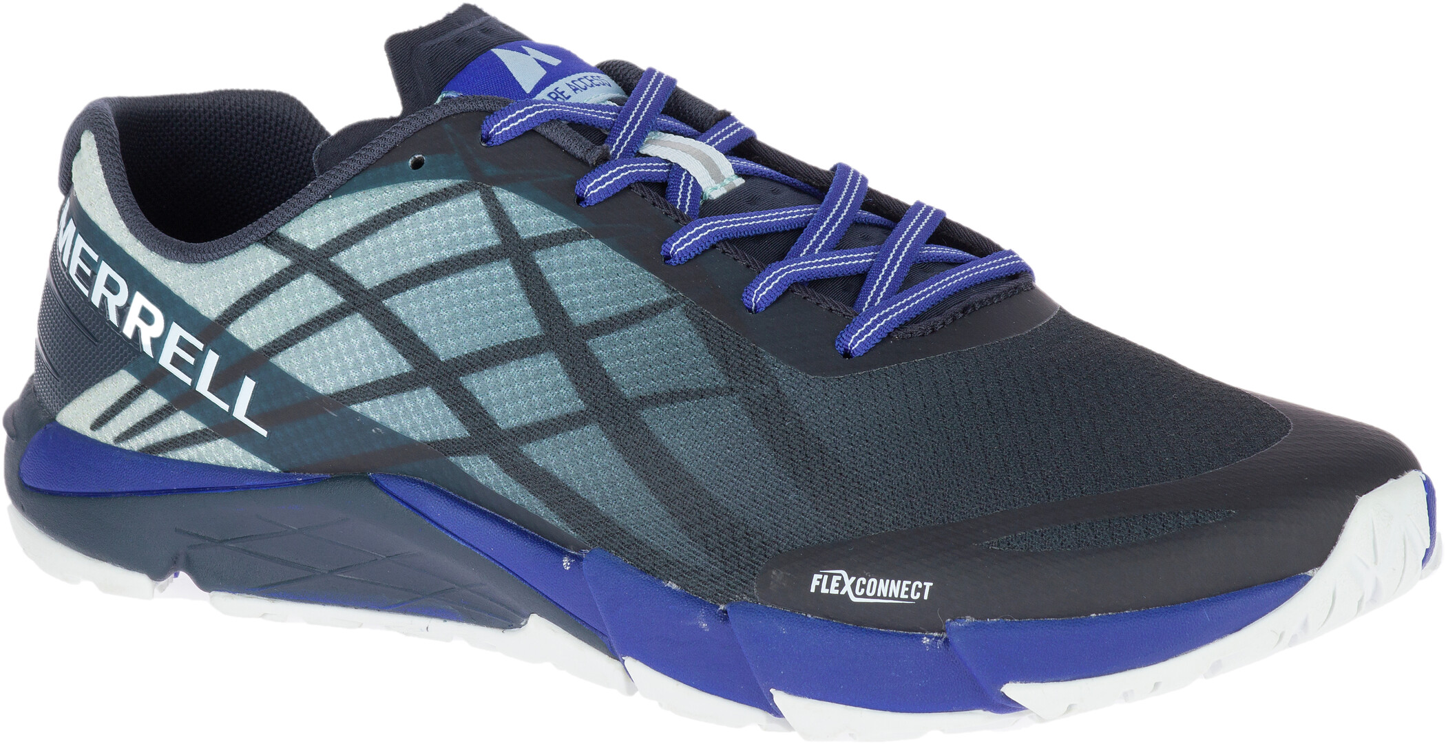 Merrell Bare Access Flex Sko Herrer, blue sport | Running shoes