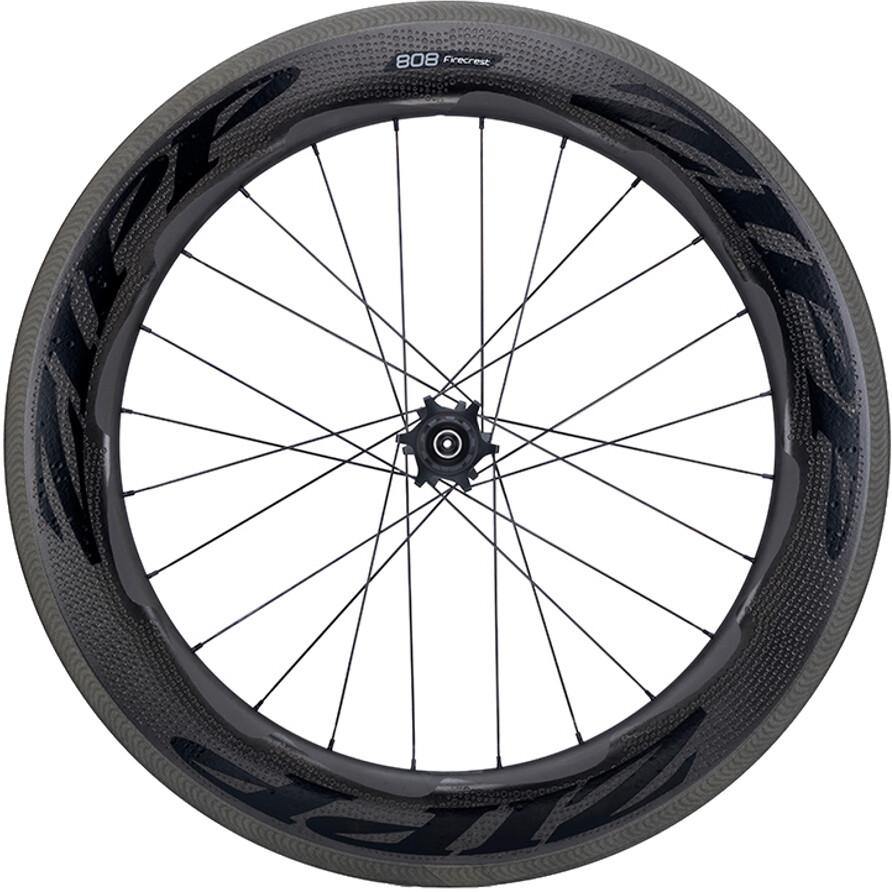 Zipp 808 Firecrest Baghjul Carbon Clincher SRAM/Shimano, white (2019)   Rear wheel