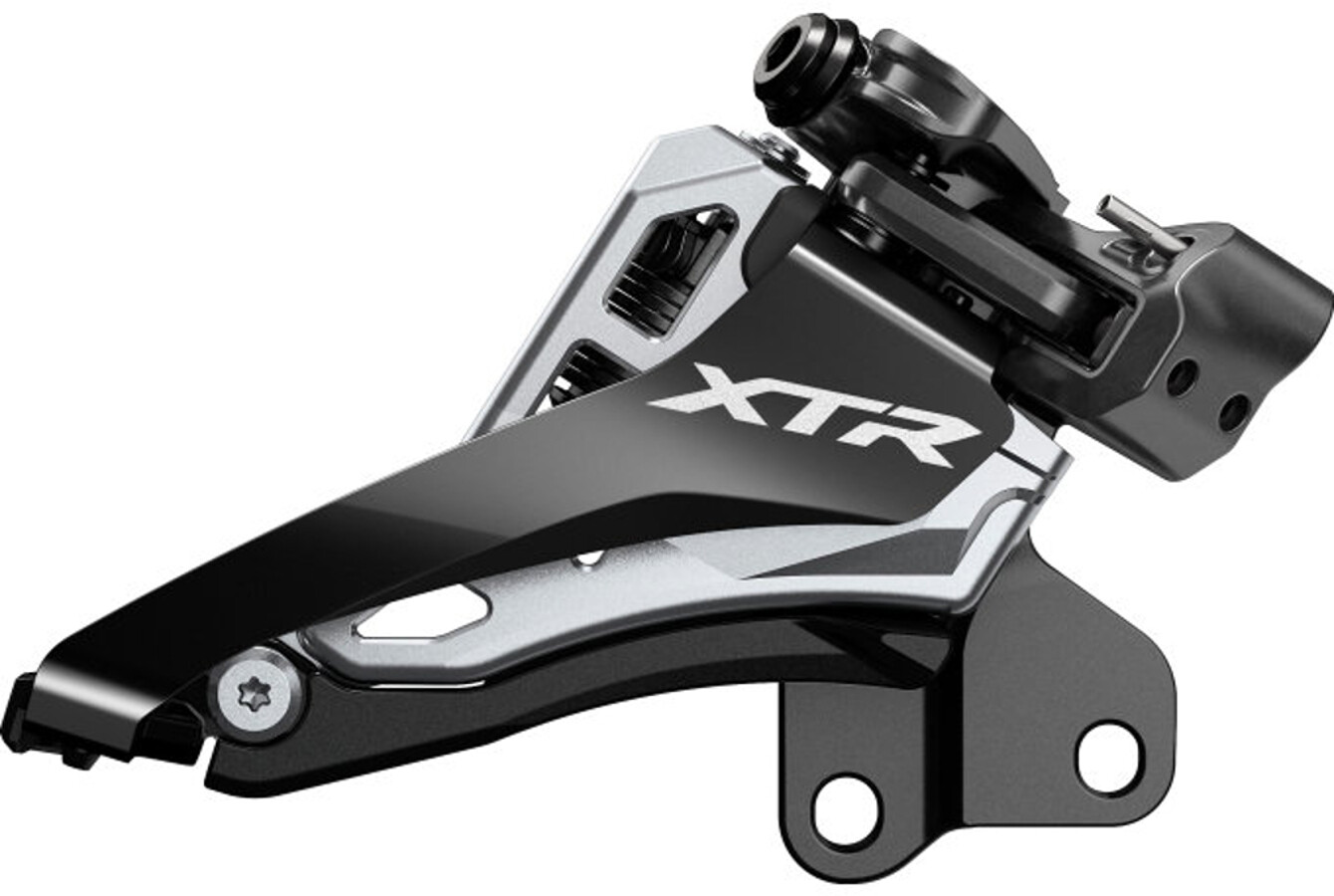 Shimano XTR FD-M9100 Forskifter 2x12 Side Swing Front Pull Direct-Mount lav (E-Type) (2019) | Front derailleur
