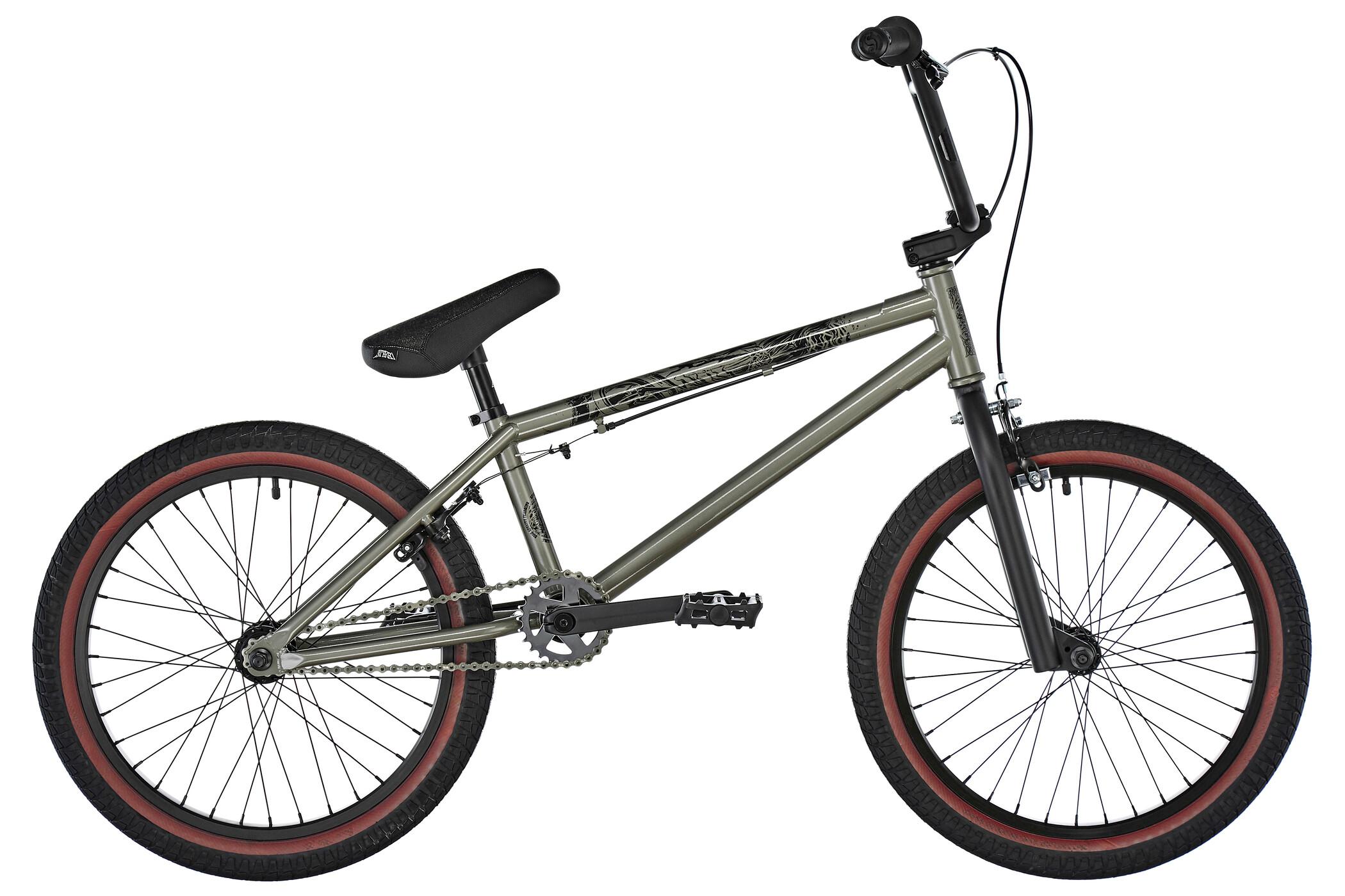 Stereo Bikes Woofer, gloss gun metall (2019) | BMX