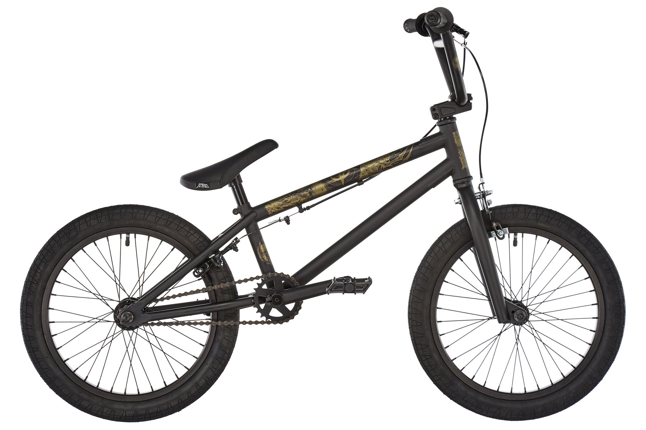 Stereo Bikes Half Stack, sooty matt black (2019) | BMX
