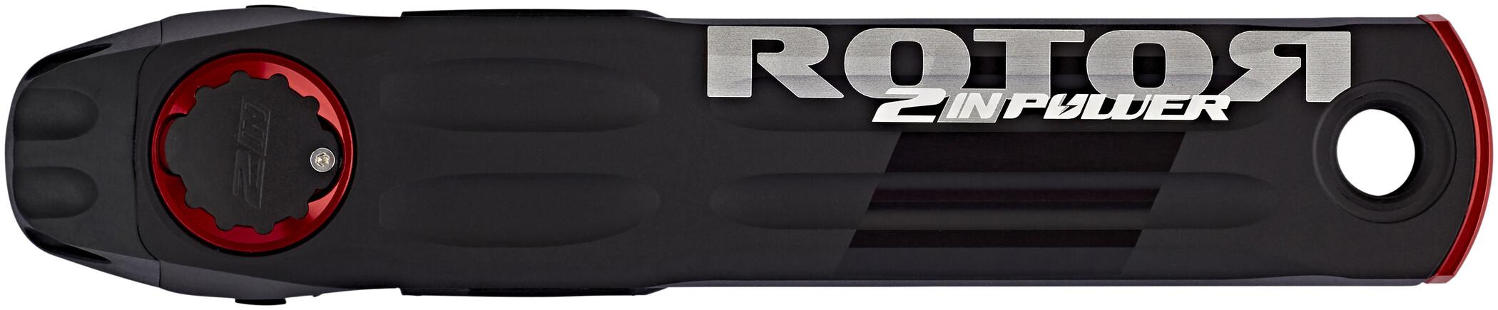 Rotor 2Inpower Road Krank DM, black (2019) | Powermeter